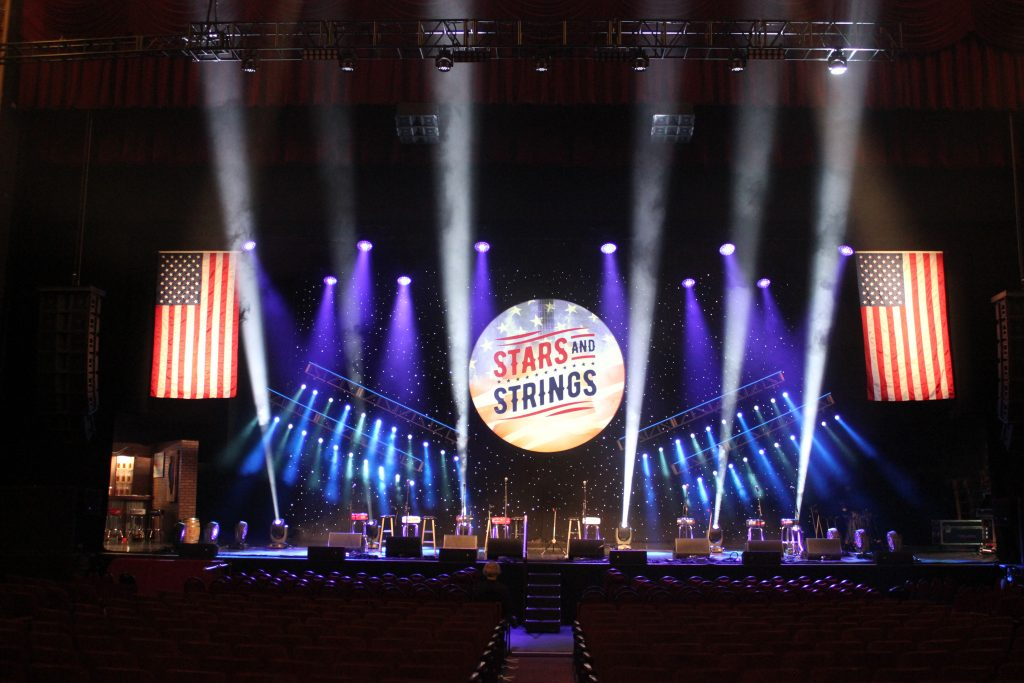 Photo of Stars and Strings 2018 Concert Stage