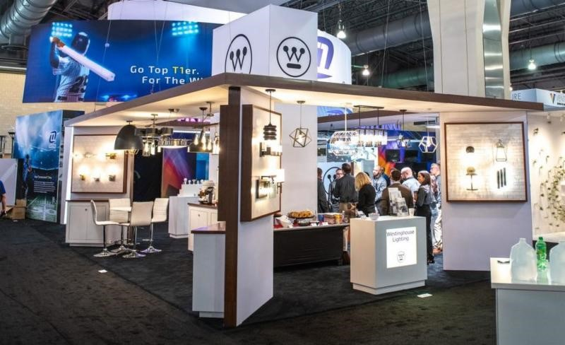 Westinghouse Lighting booth at Light Fair 2019