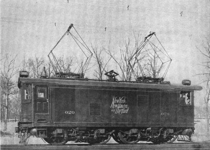 Photo of main-line AC powered locomotive.