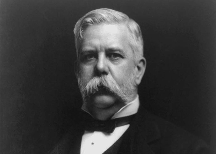Portrait of George Westinghouse.