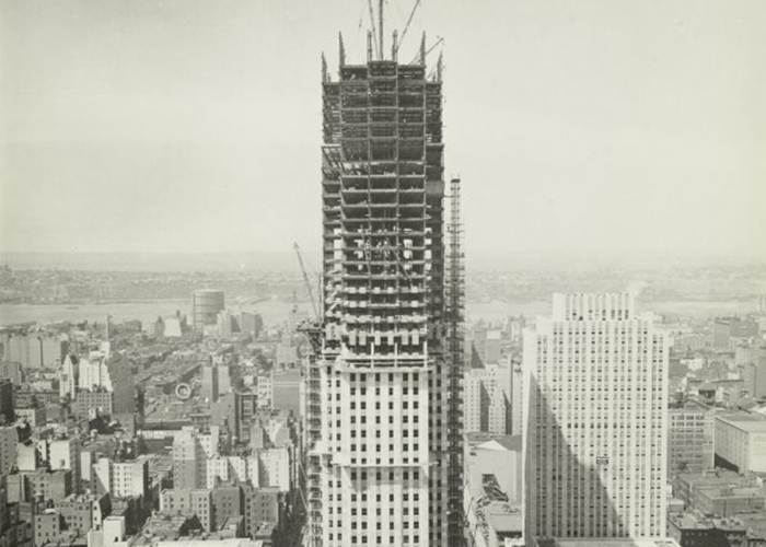Constructions of New York's Rockefeller Center.