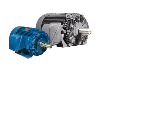 A premier line of industry-leading AC and DC motors and generators that drive innovation in industries from petroleum and paper to mining and marine propulsion.