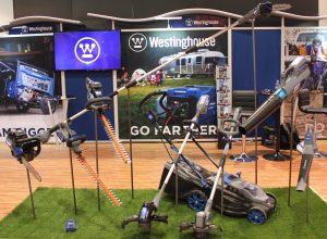 Westinghouse lawn and garden tools at National Hardware Show 2019