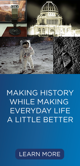 Making History... While Making Everyday Life A Little Better. Learn More.
